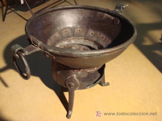 ASADOR O TOSTADOR MUY ANTIGUO (Antigüedades - Técnicas - Rústicas)