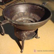 Antigüedades: ASADOR O TOSTADOR MUY ANTIGUO . Lote 27577920