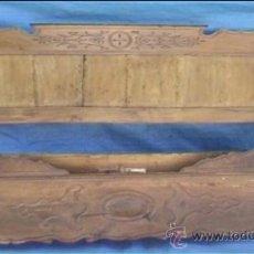 Antigüedades: CAMA DITADA ISABELINA NOGAL 153 CM. Lote 21228715