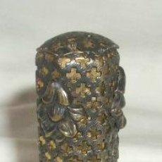 Antigüedades: ANTIGUO PINTALABIOS METÁLICO,PRINCIPIO DEL SIGLO XX. Lote 21243431