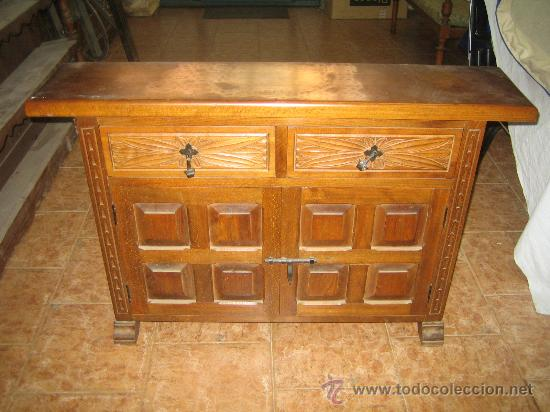 Taquillon entrada mueble castellano comprar c modas - Muebles castellanos antiguos ...