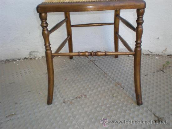 Antigüedades: silla en madera dorada - Foto 4 - 21378719