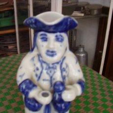 Antigüedades: JARRA ESTILO MANBRÚ VIANA DO CASTELO. Lote 24396146