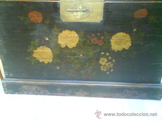 Antigüedades: ARCON BAUL . MUEBLE - Foto 2 - 26825451