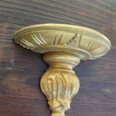Antigüedades: MESULA DE MADERA DORADA . Lote 21490679
