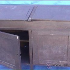 Antigüedades: ESCRITORIO DESPACHO TALLER MECANICO. Lote 21491942