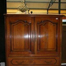 Antigüedades: MUEBLE TV,LUIS XV REF.1356. Lote 26048307