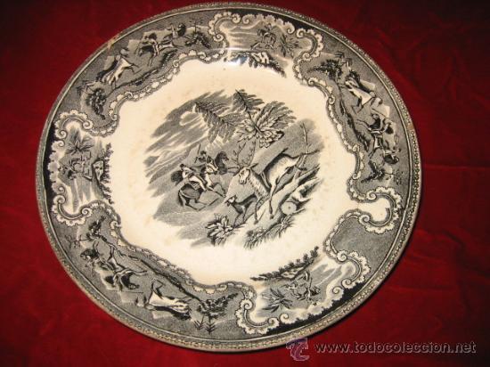 ANTIGUO PLATO DE CARTAGENA (Antigüedades - Porcelanas y Cerámicas - Cartagena)