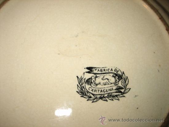 Antigüedades: ANTIGUO PLATO DE CARTAGENA - Foto 7 - 22781534