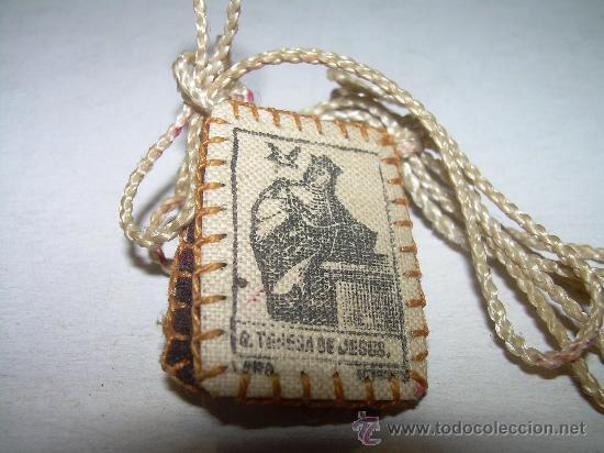 ANTIGUO ESCAPULARIO (Antigüedades - Religiosas - Escapularios Antiguos)