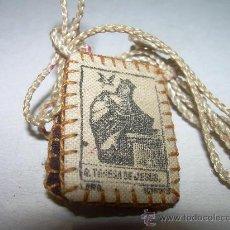 Antigüedades: ANTIGUO ESCAPULARIO. Lote 27551214