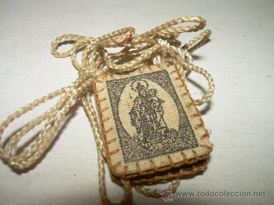 Antigüedades: ANTIGUO ESCAPULARIO - Foto 2 - 27551214