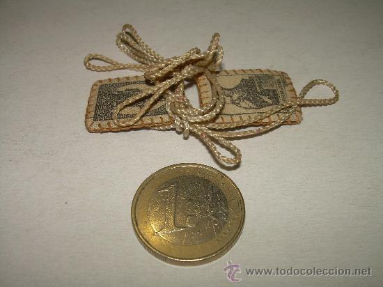 Antigüedades: ANTIGUO ESCAPULARIO - Foto 3 - 27551214