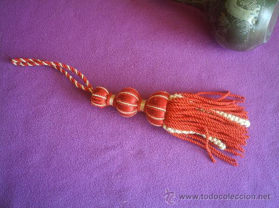 Cord n con borla en hilo de seda siglo xix comprar - Como hacer borlas de hilo ...