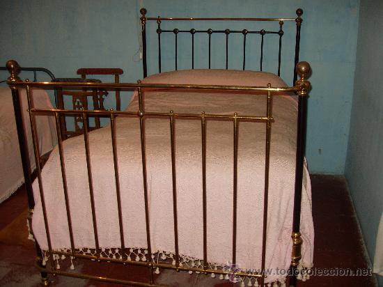 Cama de hierro y lat n comprar camas antiguas en todocoleccion 27508703 - Camas de hierro antiguas ...