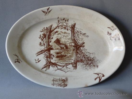 FUENTE OVALADA. CARTAGENA, PICKMAN, GIJON (Antigüedades - Porcelanas y Cerámicas - Cartagena)