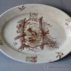 Antigüedades: FUENTE OVALADA. CARTAGENA, PICKMAN, GIJON. Lote 24334723