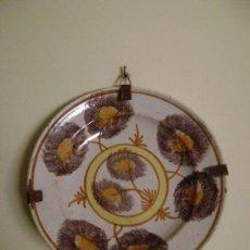 Antigüedades: PLATO DE RIBESALBES SIGLO XIX. Lote 23427938