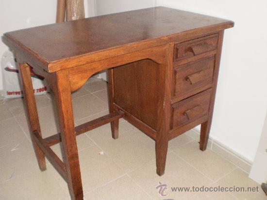 mesa oficina pequeña años 40 tipo americano - Comprar Mesas Antiguas ...