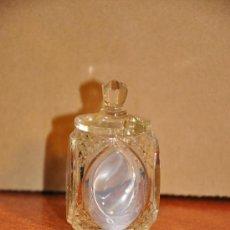 Antigüedades: CRISTAL TALLADO INGLES 6 CM.. Lote 21857532