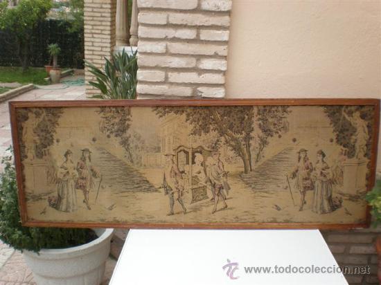 TAPIZ REAL (Antigüedades - Hogar y Decoración - Tapices Antiguos)
