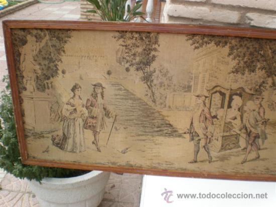Antigüedades: tapiz real - Foto 2 - 21922292