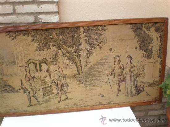 Antigüedades: tapiz real - Foto 3 - 21922292