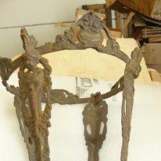Antigüedades: FAROL DE BRONCE. Lote 26778511