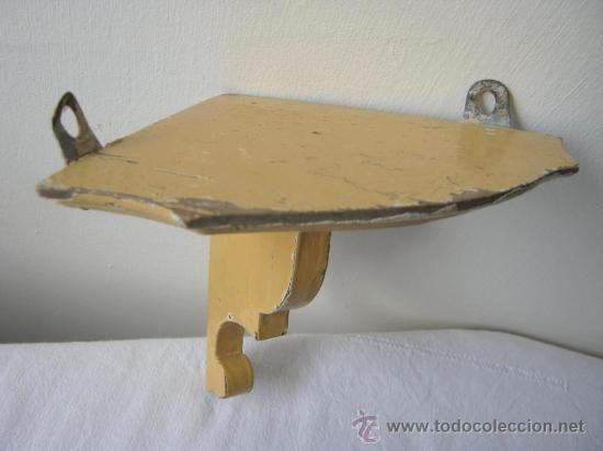 Antigua balda repisa esquinera de madera comprar repisas antiguas en todocoleccion 21977567 - Balda de madera ...