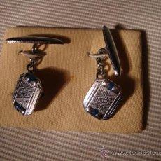 Antigüedades: BONITO GEMELOS ANTIGUOS, ESTAN SIN USAR.. Lote 22183211