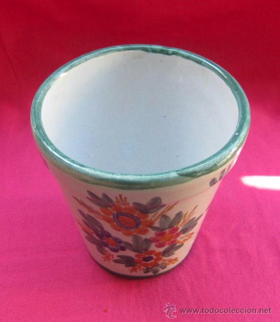 Preciosa maceta de ceramica de talavera pintada comprar Macetas ceramica online