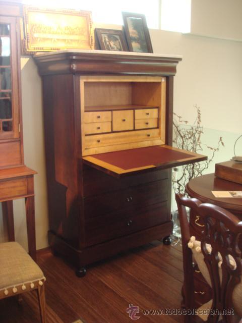 Antiguo secreter abattant madera de palo sa comprar mesas de despacho antiguas en - Mueble secreter ...
