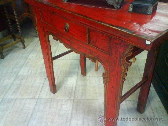 Antigua consola oriental mueble comprar consolas for Consolas antiguas muebles