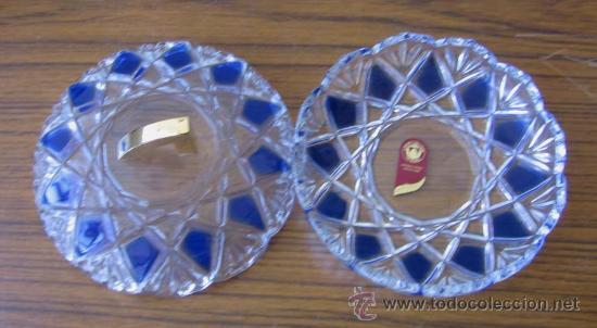 Antigüedades: JOYERO de cristal labrado el tirador de bronce o similar .. Made In Germany - Foto 2 - 22288896