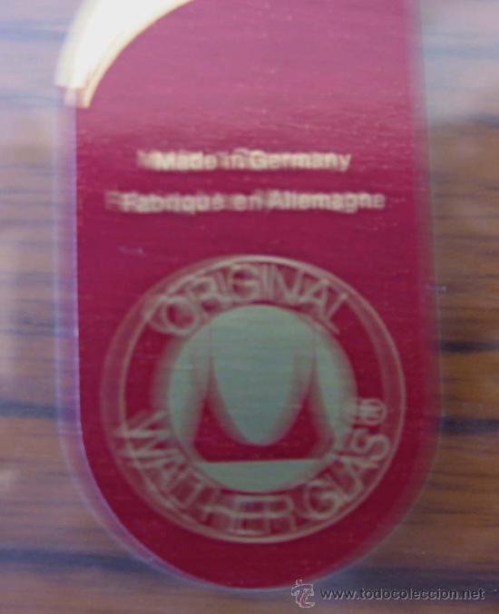 Antigüedades: JOYERO de cristal labrado el tirador de bronce o similar .. Made In Germany - Foto 3 - 22288896