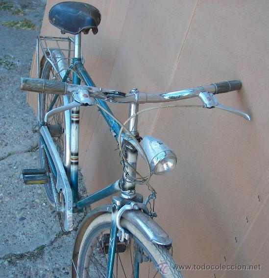 Antigüedades: bicicleta suiza marca niesen con velocidades antigua y funcinando ,,bici365 - Foto 4 - 26305591