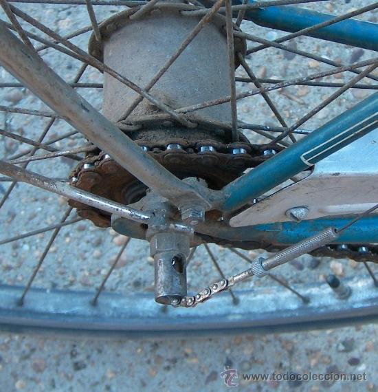Antigüedades: bicicleta suiza marca niesen con velocidades antigua y funcinando ,,bici365 - Foto 7 - 26305591