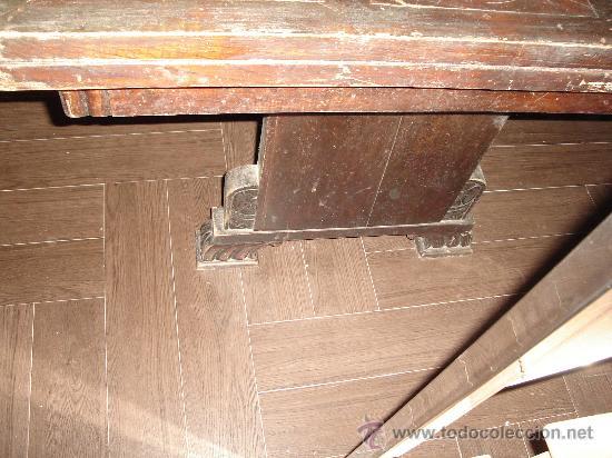 Antigüedades: mesa de castaño - Foto 6 - 26380770