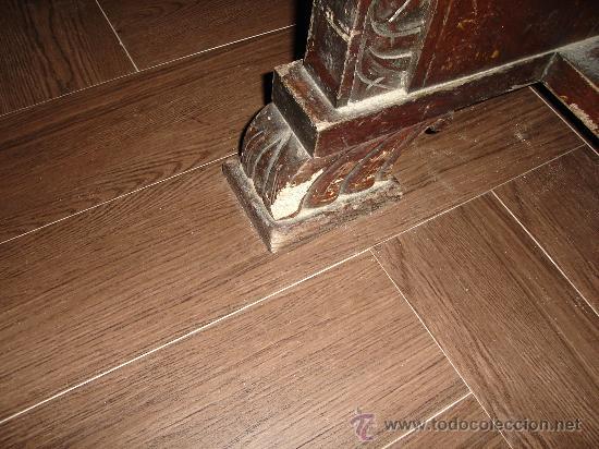 Antigüedades: mesa de castaño - Foto 4 - 26380770