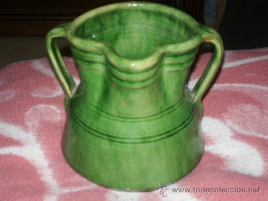 VASIJA DE CERÀMICA DE TITO (ÙBEDA) (Antigüedades - Porcelanas y Cerámicas - Úbeda)
