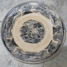Antigüedades: PLATO LA AMISTAD DE CARTAGENA . Lote 29335602
