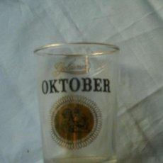 Antigüedades: VASITO DE CRISTAL OKTOBER. GOLDENER ANTIGUO. Lote 22534948