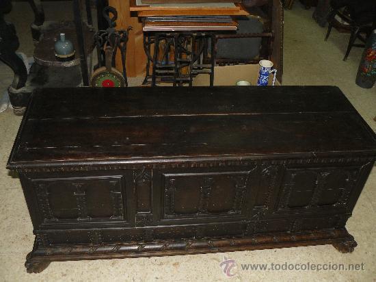 ARCA DE NOVIA CATALANA DEL SIGLO XIX (Antigüedades - Muebles - Cómodas Antiguas)