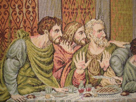Antigüedades: Tapiz enmarcado última cena - Foto 3 - 22924582