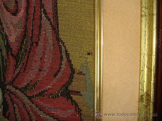 Antigüedades: Tapiz enmarcado última cena - Foto 4 - 22924582