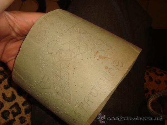 Antigüedades: lote de 40 cartones para hacer encajes de bolillo, , regalo antiguo cuaderno de labores - Foto 14 - 22646724