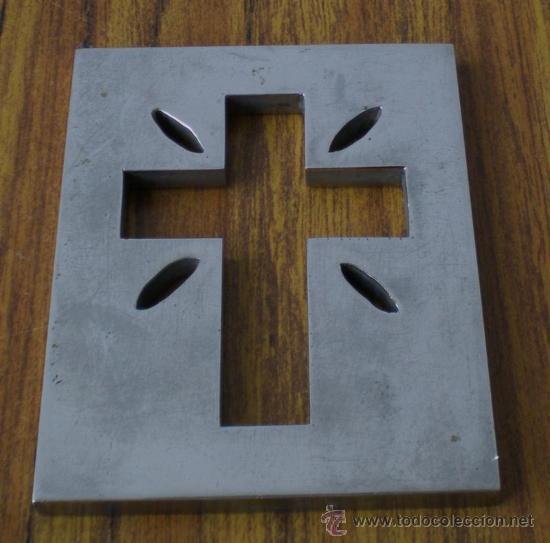 Antigüedades: CRUZ de metal - Foto 2 - 22650393