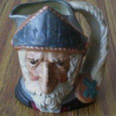 Antigüedades: JARRA DE CERVEZA ROYAL DOULTON .. MADE IN ENGLAND QUIXOTE -- QUIJOTE. Lote 22650671
