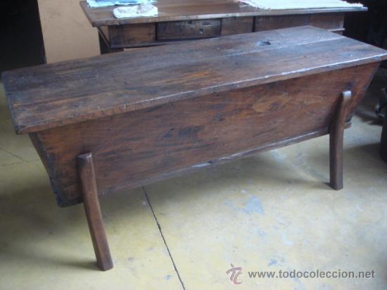Antigua artesa galllega en madera de casta o comprar for Madera de castano