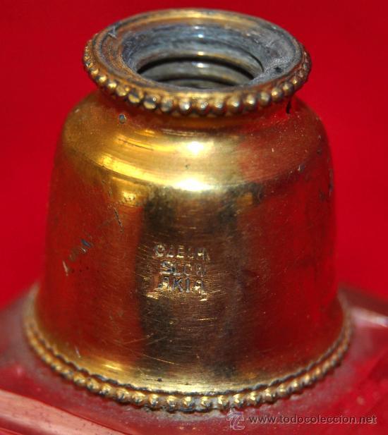 Antigüedades: ANTIGUO PERFUMERO DE CRISTAL TALLADO - Foto 2 - 26389961